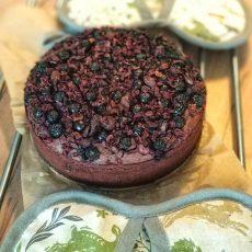 Lýdia Pokorná - fazolové brownies s arónií a kakaovými boby